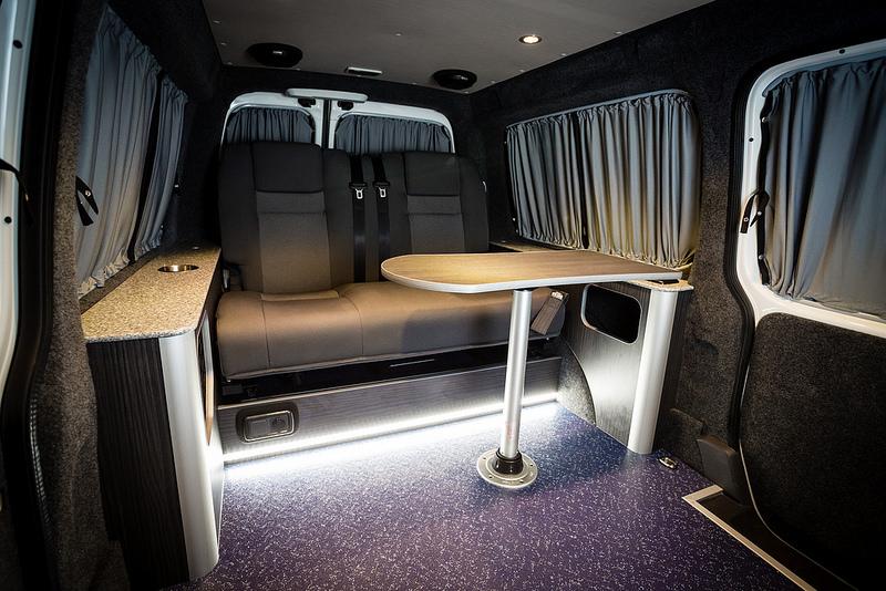 Vw Camper Van >> Caddy Conversions - New Wave Custom Conversions