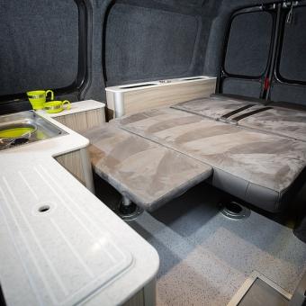 VW Caddy Camper Conversion