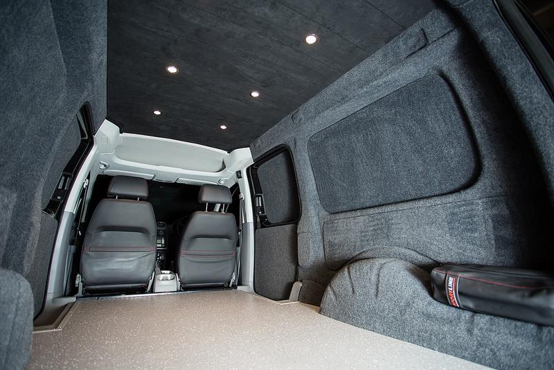 Caddy Interior Conversions New Wave Custom Conversions