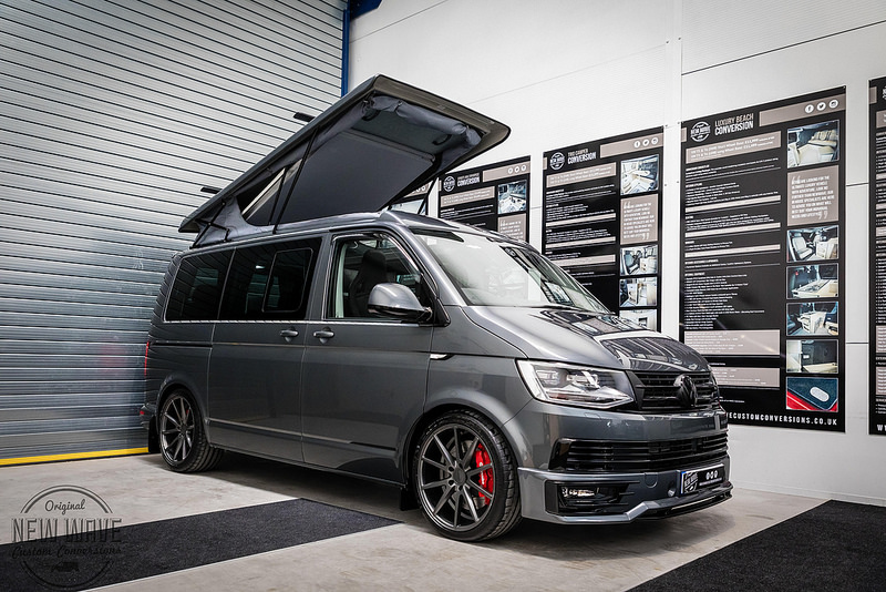 VW T5 T6 Elevating Roofs New Wave Custom Conversions