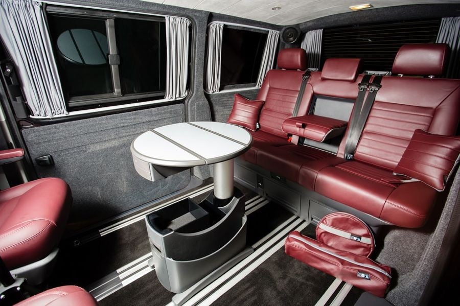 The Collins' Caravelle Interior Conversion
