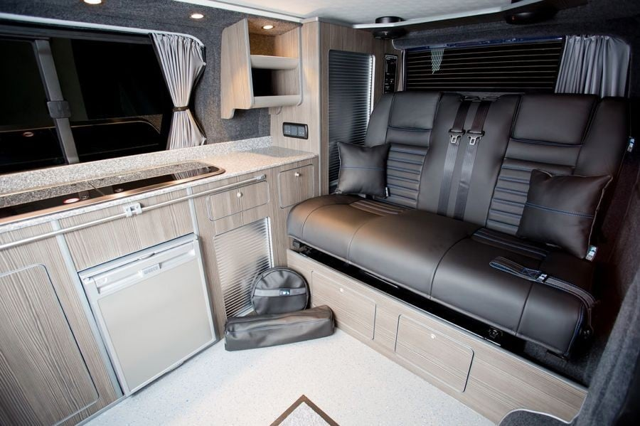 The Faulkner's Traditional 'Lux' Camper Conversion