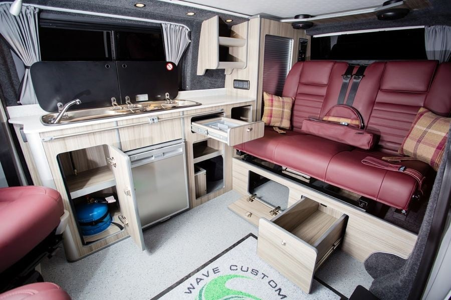 The Mylett's Traditional 'Lux' Camper Conversion