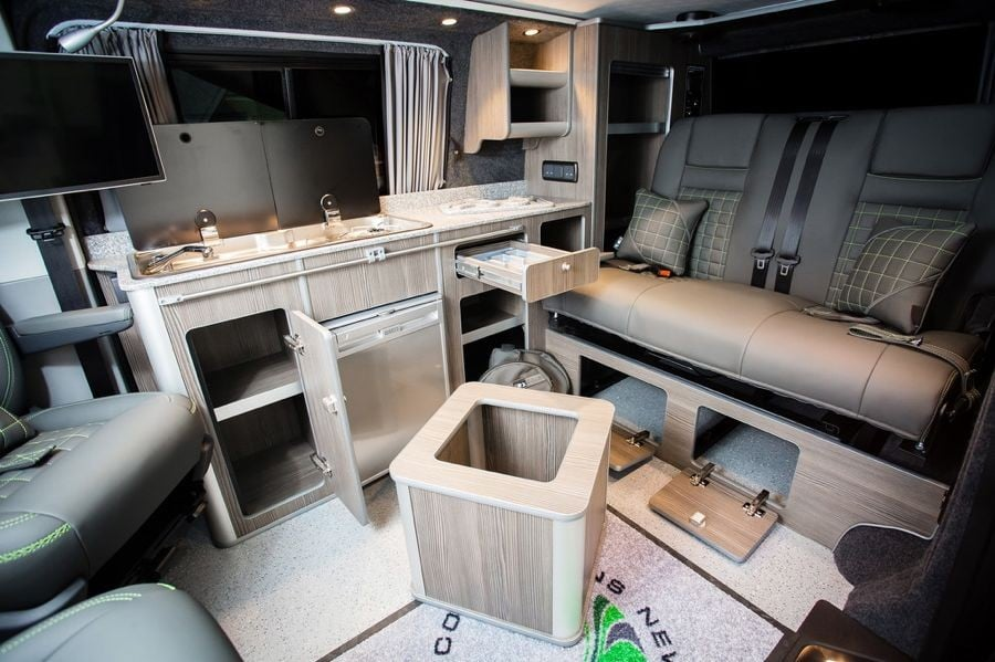 The Simpson's Traditional 'Lux' Camper Conversion