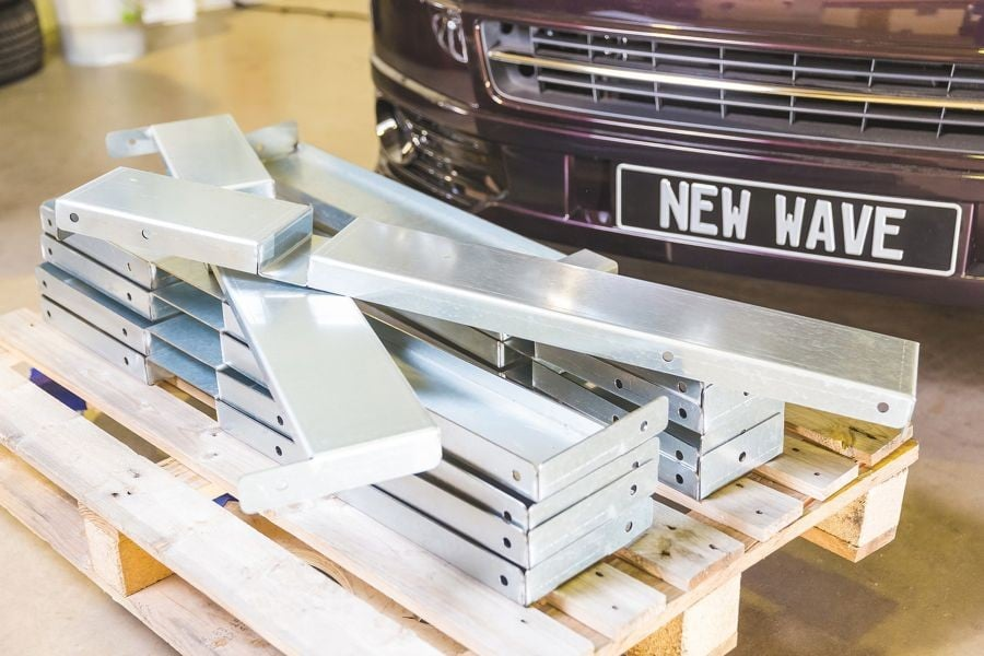VW Caddy – RIB Fixation Frame Work
