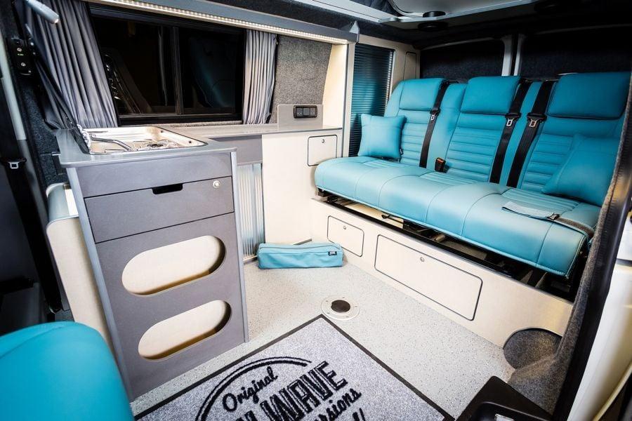 The Gratton's TRIO Camper Conversion