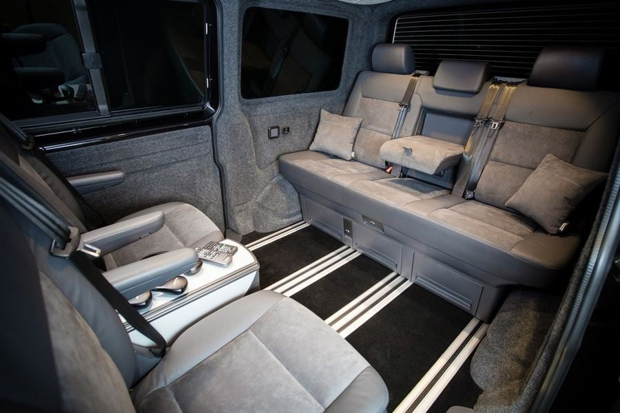 THE JOHNSTON'S VWT6 CARAVELLE INTERIOR CONVERSION