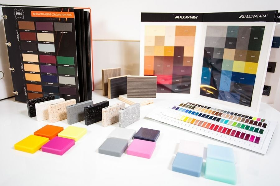 Upholstery & Solid Surface Options
