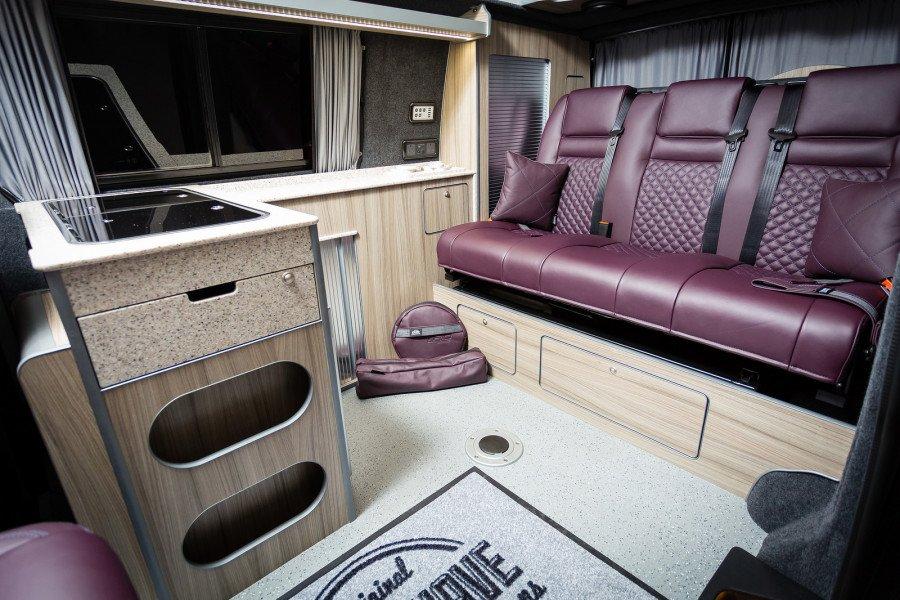 The Crocker's VWT6 TRIO Camper Conversion