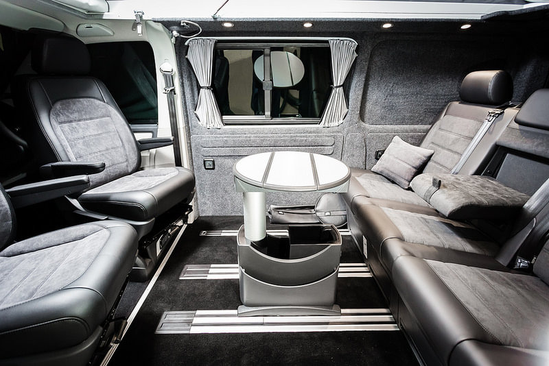 The Whitehouse S Vwt6 Caravelle Interior Conversion New