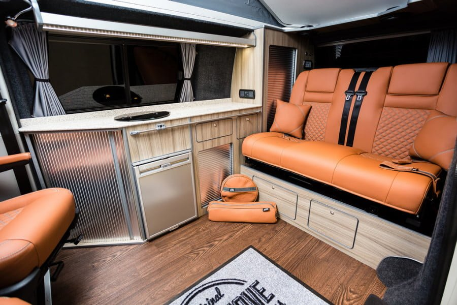 THE O'Toole's VWT6 TRADITIONAL 'LUX' CAMPER CONVERSION