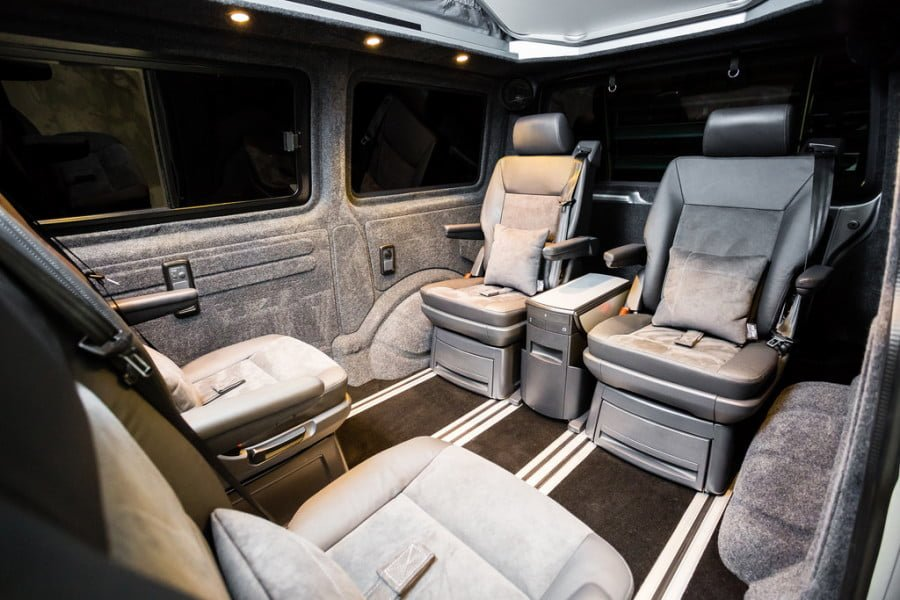 THE Whelan's VWT6 CARAVELLE INTERIOR CONVERSION
