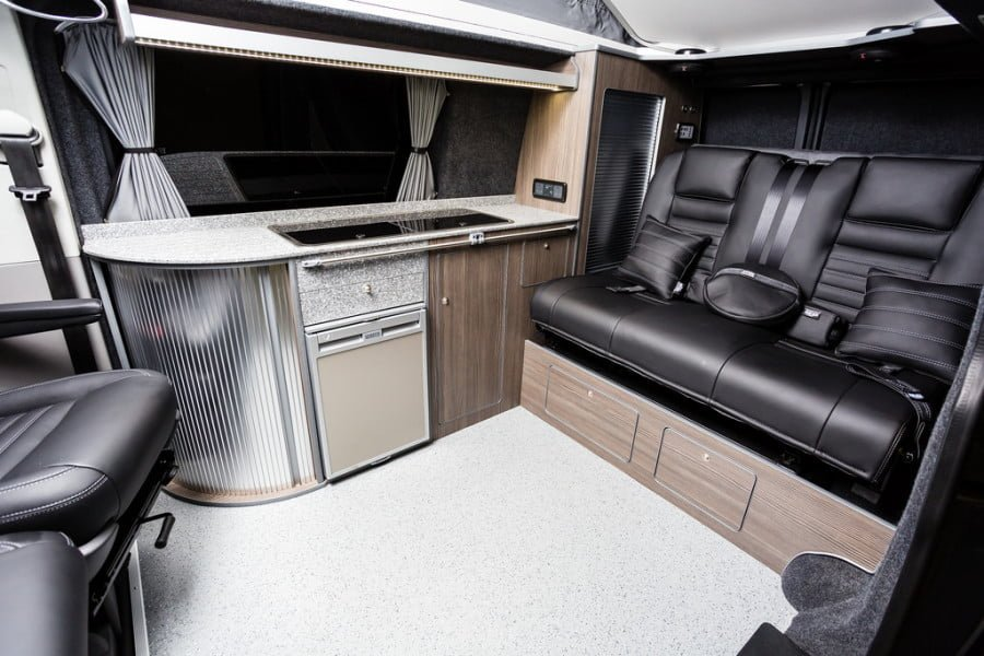 THE Preeces' TRADITIONAL 'LUX' CAMPER CONVERSION