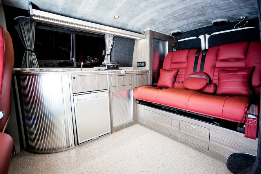 The Spyrakis' Traditional Lux Camper Conversion