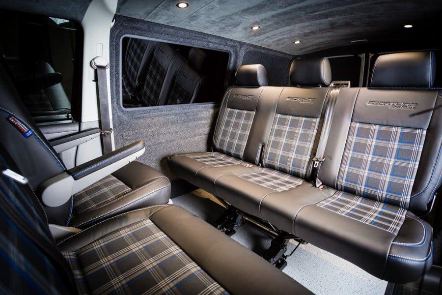 The Ellis' VWT5 Sportline Interior Kombi Conversion.