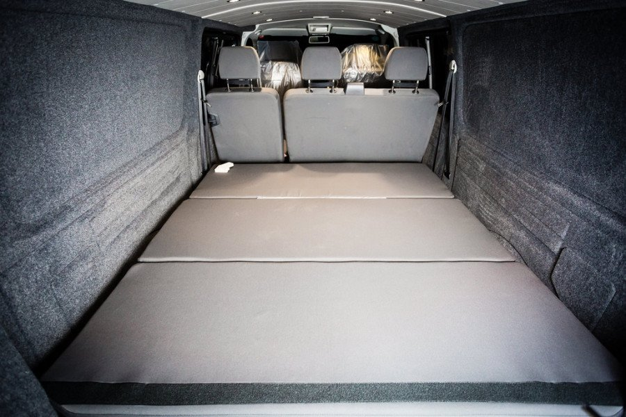 NWCC's VW (LWB) Kombi Bed & Storage Solution.