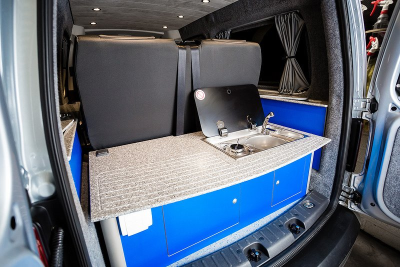 Best Van For Camper Conversion >> The Whites VW Caddy-Maxi Conversion - New Wave Custom Conversions