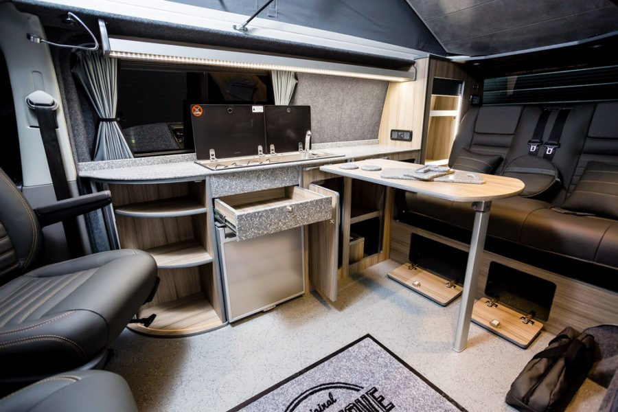 The Graham's VWT5 (LWB) Traditional 'Lux' Camper Conversion