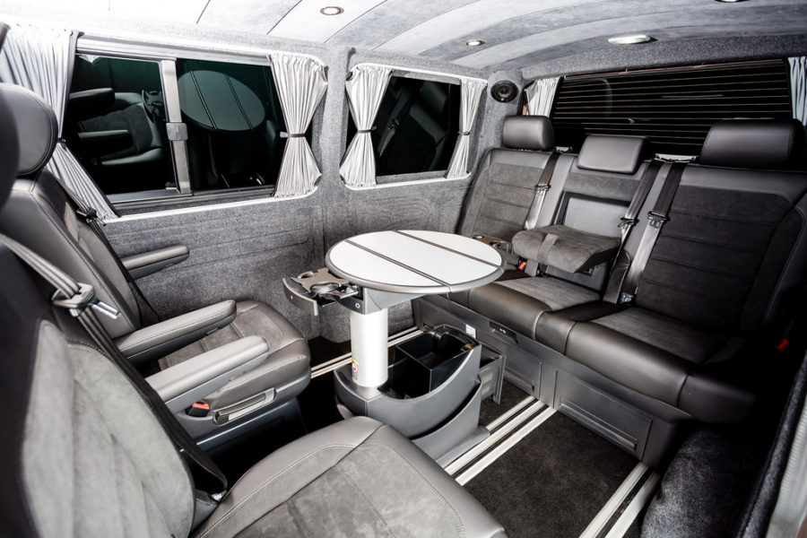 Vw Caravell 2017 Interior Pictures To Pin On Pinterest