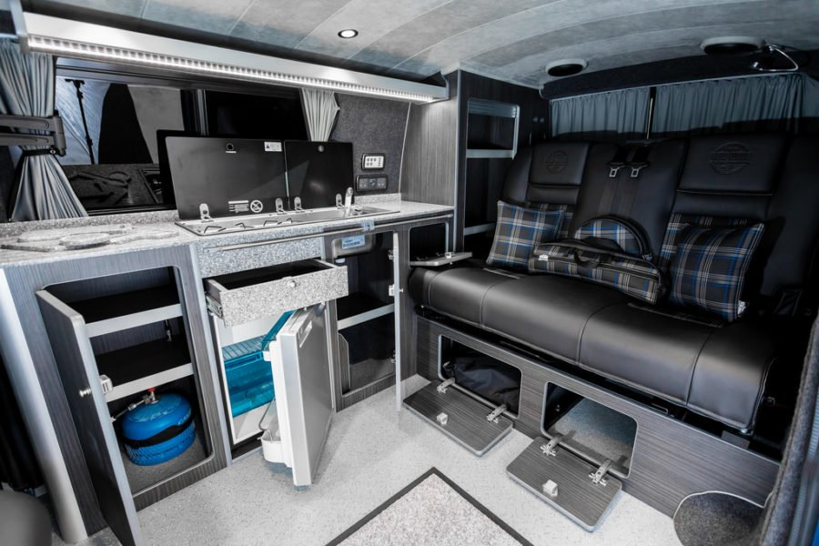The Cartwright's VWT6 TRADITIONAL 'LUX' CAMPER CONVERSION