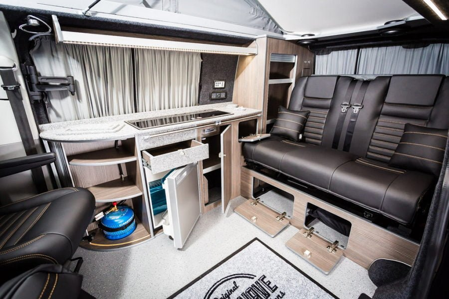 The Thomas' Traditional 'Lux' Camper Conversion