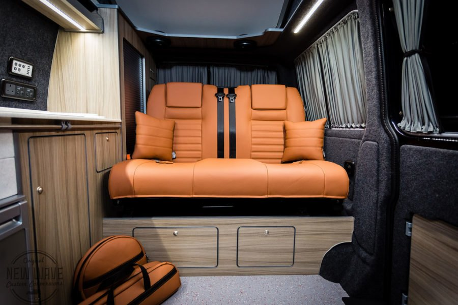 The Davey's VW T6 Traditional 'Lux' Camper Conversion
