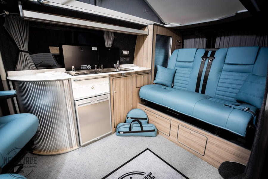 The Ellick's VW T5 Traditional 'Lux' Camper conversion