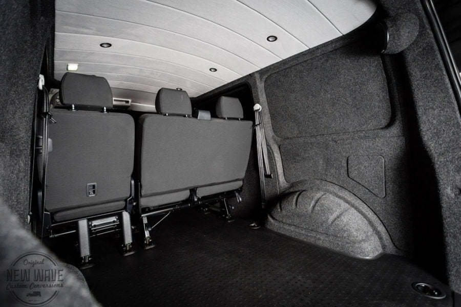The Peate's VW T6 Kombi – Lining Conversion.