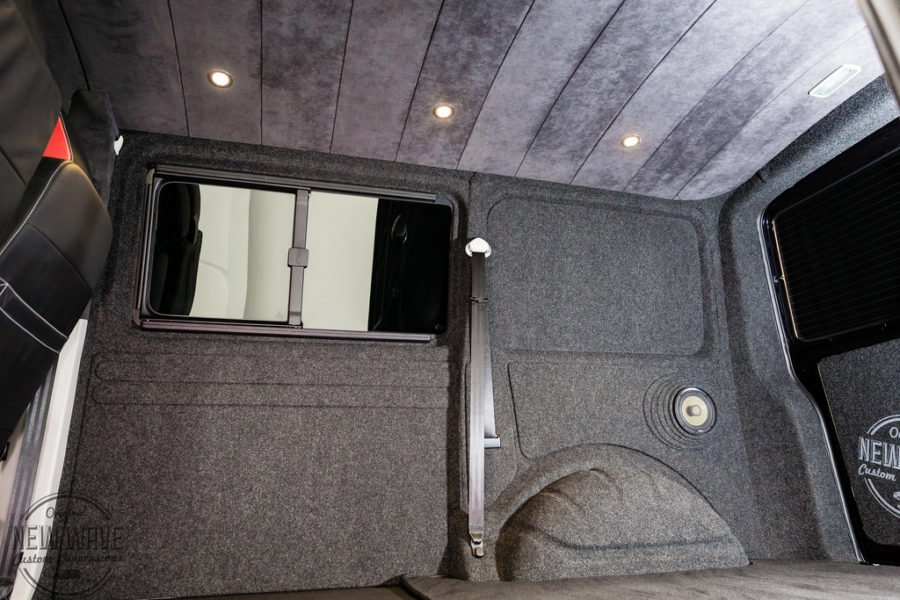 The Griffiths' VW T6 Sportline Kombi Lining Conversion