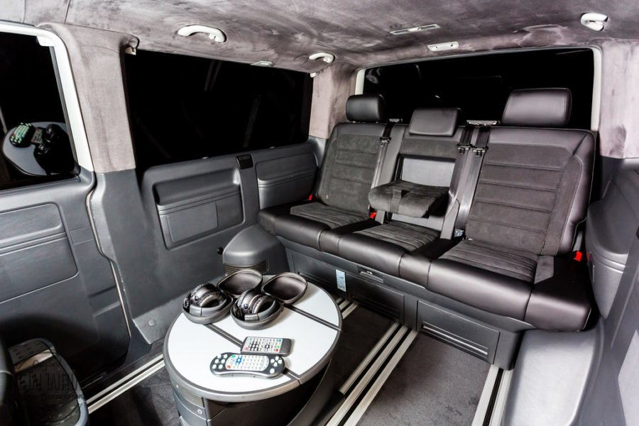 THE WHITEHEAD'S VW T5 MULTIVAN TO CARAVELLE LWB CONVERSION