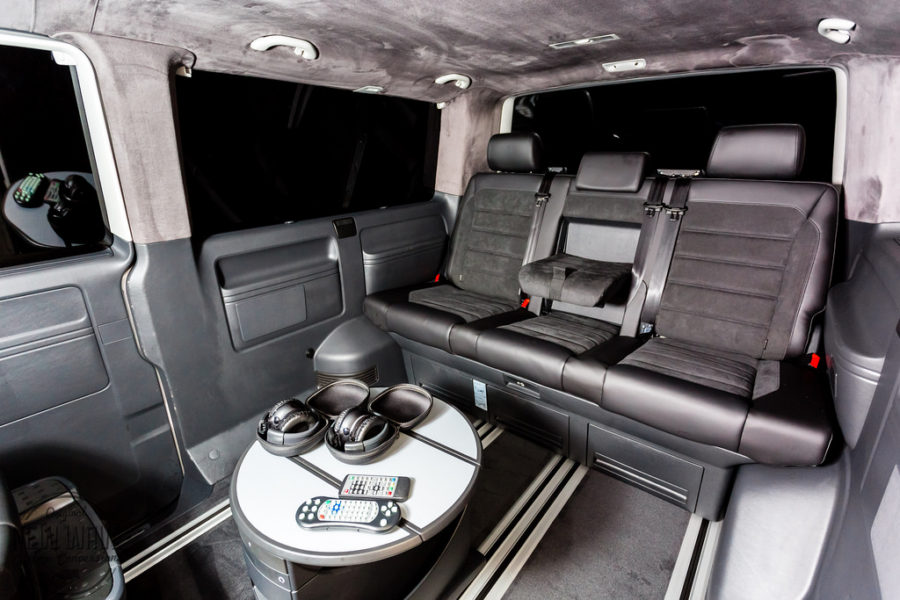 The Whitehead S Vw T5 Multivan To Caravelle Lwb Conversion