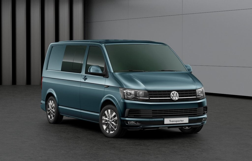 VW T6 (T30) Kombi - Highline (SWB) - Bamboo Garden Green Metallic - 150 PS 6sp Manual