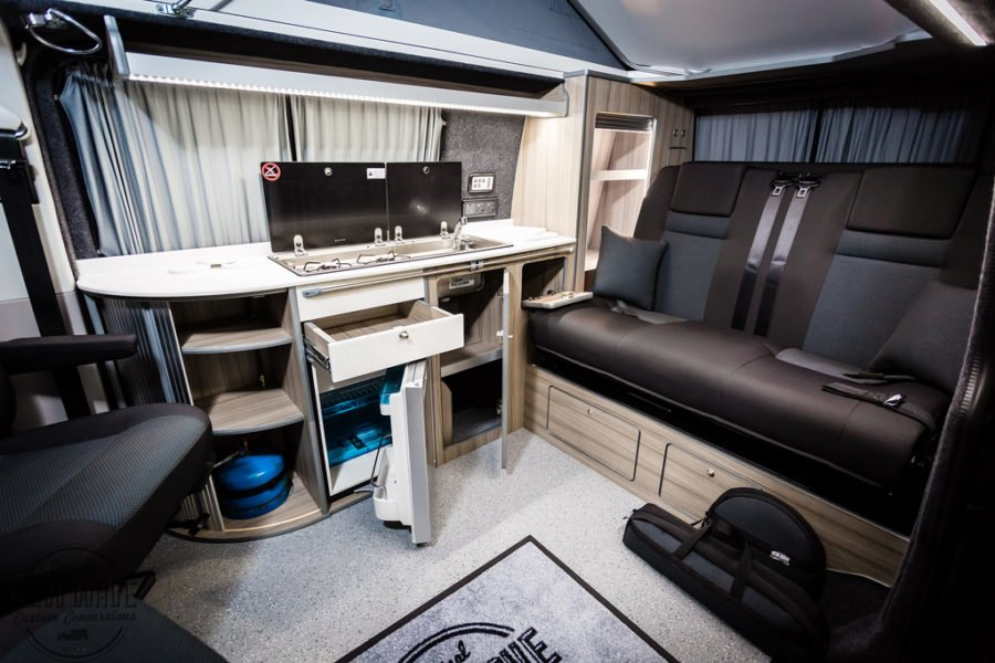 THE HIGGINS' VW T6 TRADITIONAL 'LUX' CAMPER CONVERSION