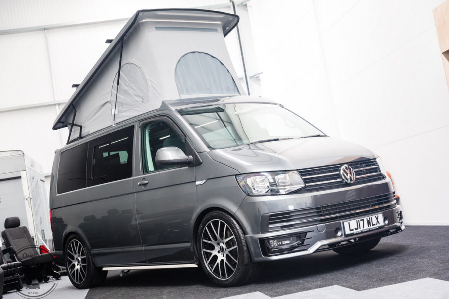 tom 39 s vw t6 traditional 39 lux 39 camper conversion new wave custom conversions. Black Bedroom Furniture Sets. Home Design Ideas
