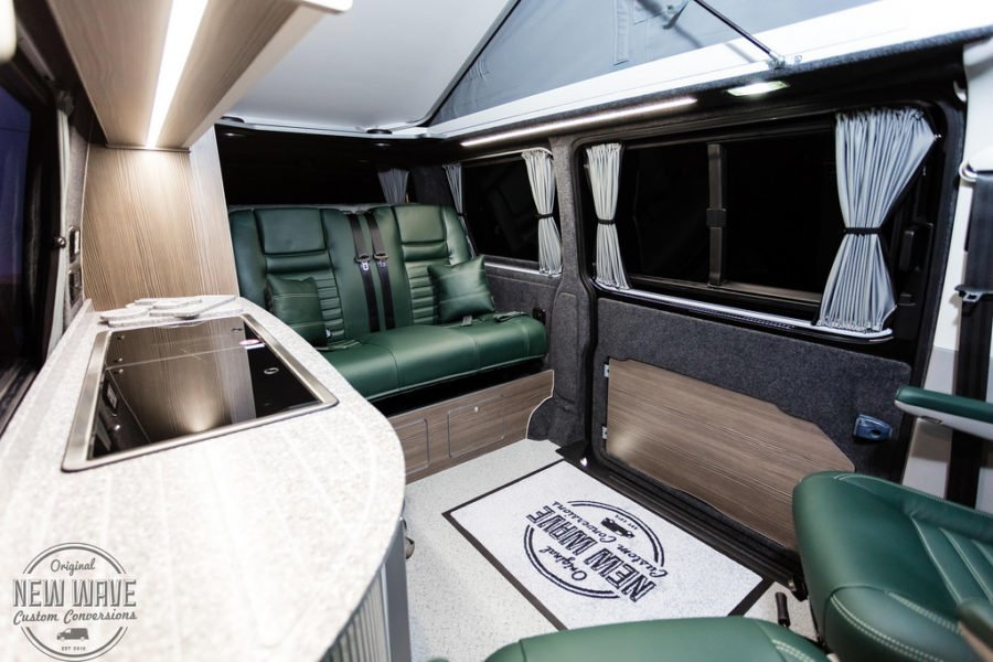 The Butler's VW T5 Traditional 'Lux' Camper Conversion