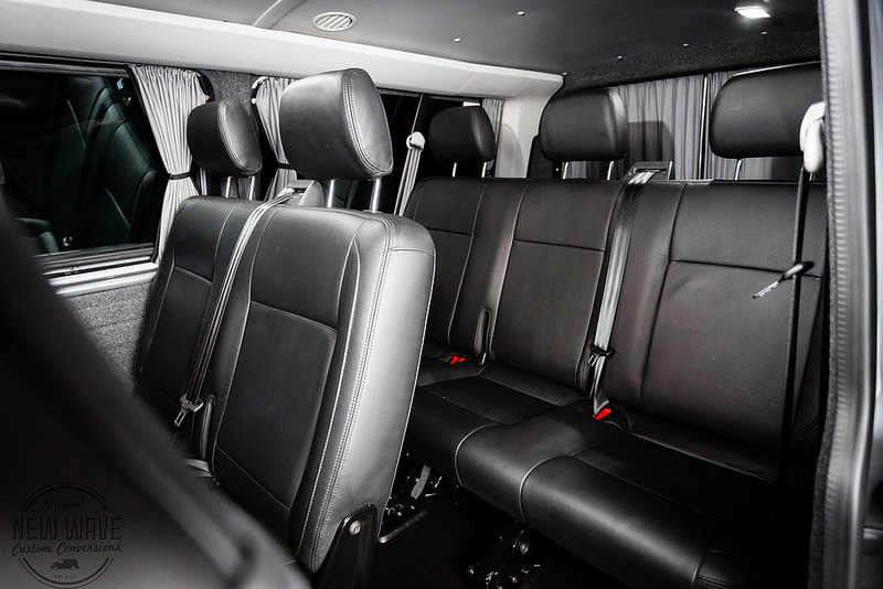 VW T5 (LWB) 2015 (T32) - Shuttle Interior Conversion. - New Wave ...