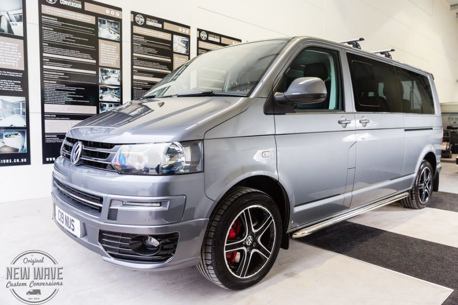 VW T5 (LWB) 2015 (T32) – Shuttle Interior Conversion.