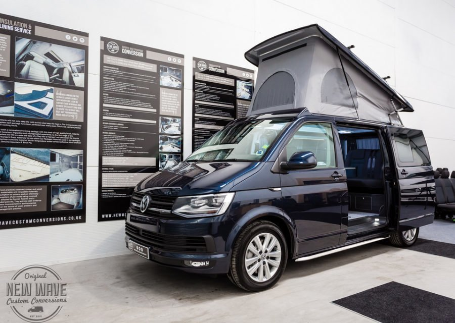 The Marshall's VW T6 Traditional 'Lux' Camper Conversion