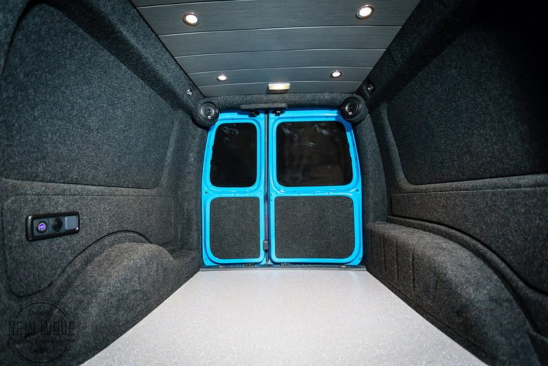 Work Vans For Sale >> The Rees' VW Caddy-Maxi Lining Conversion - New Wave Custom Conversions
