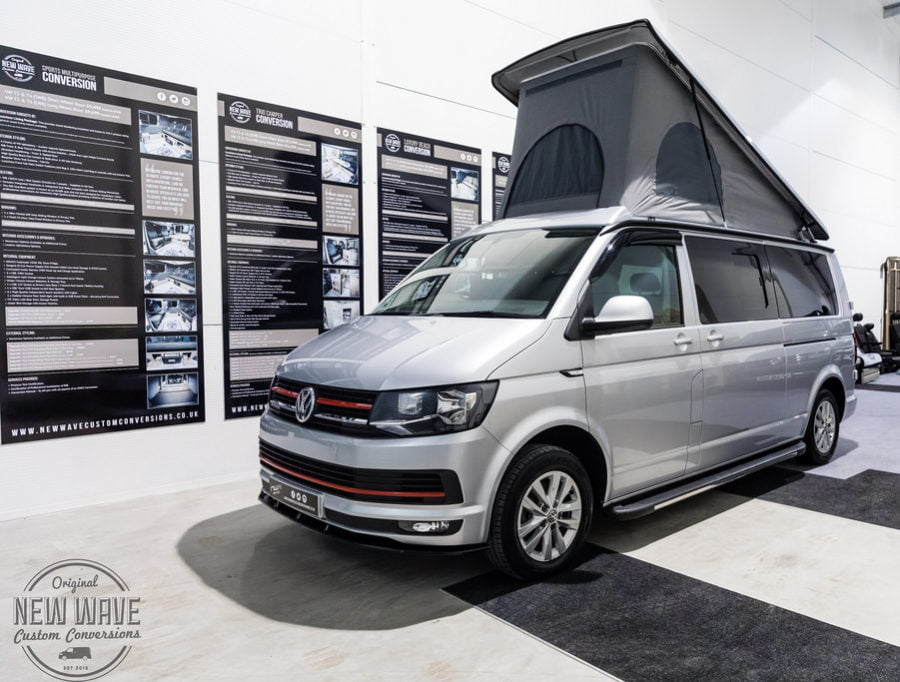 The Chekroud's VW T6 LWB Caravelle Conversion