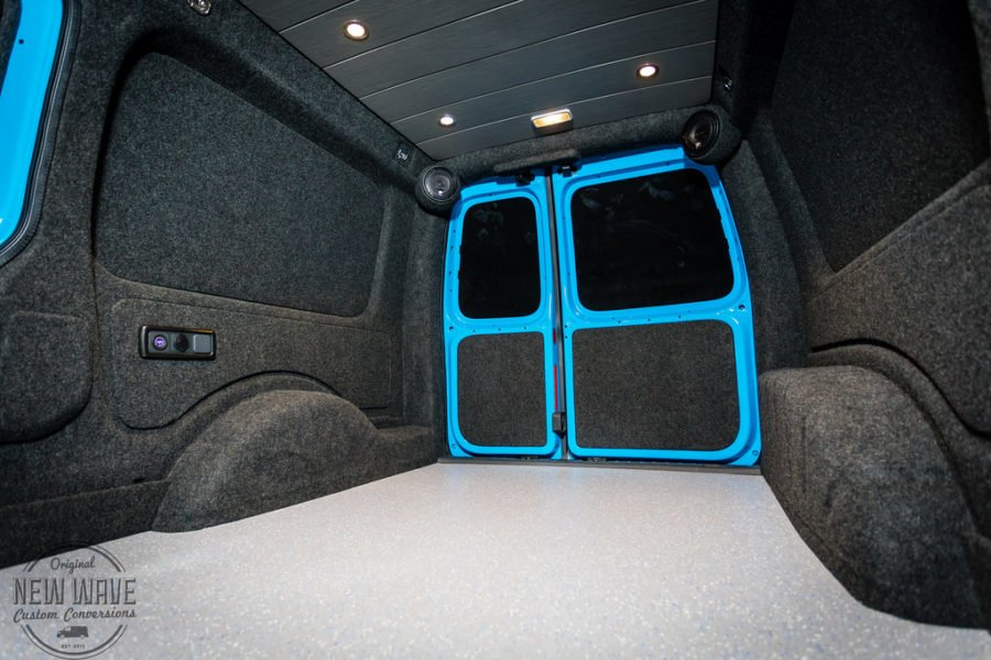 The Rees' VW Caddy-Maxi Lining Conversion