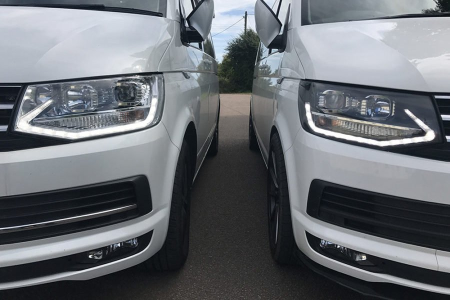 VW T6 L.E.D. DRL Headlights