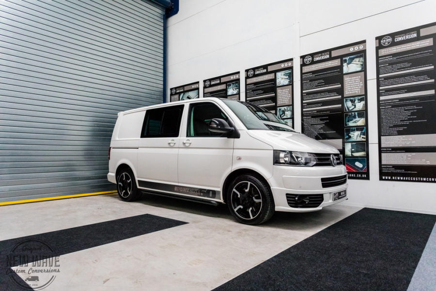 The Nicholas' VW T5 Lining & Exterior Conversion