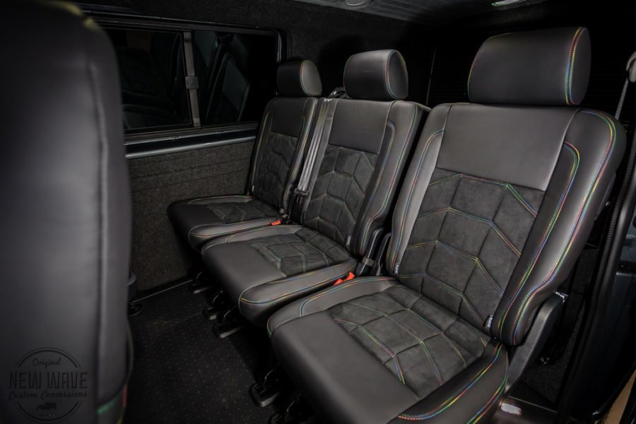 THE HOPKINS' VW T6 Upholstery Upgrades