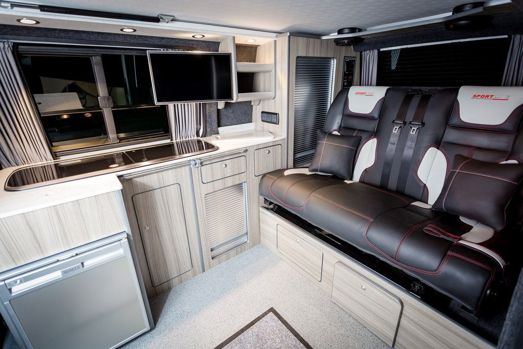 VW T5 (SWB) 2011 Sportline - NWCC converted Traditional 'Lux' Camper