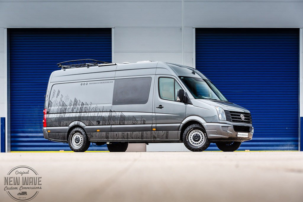 NWCC's VW Crafter Race Van - Ex Demo