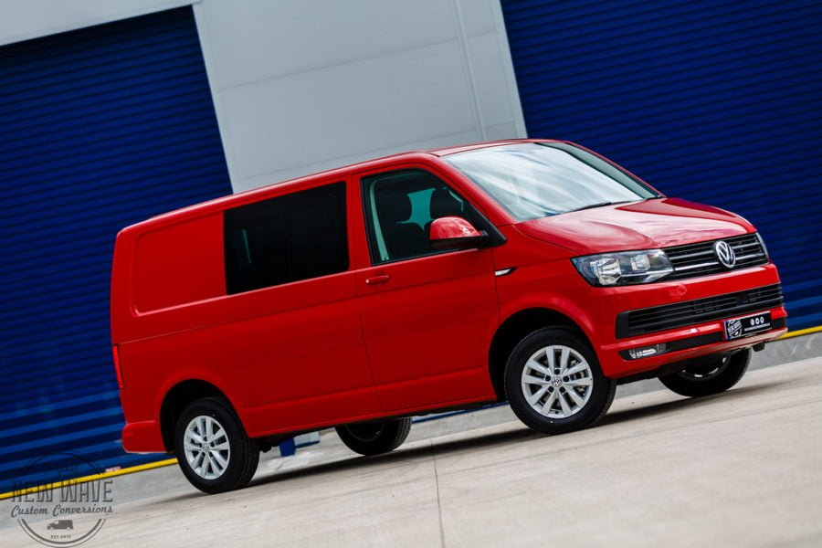 VW T6 (T30) Kombi – Highline (SWB) – Cherry Red – 150 PS 7sp DSG