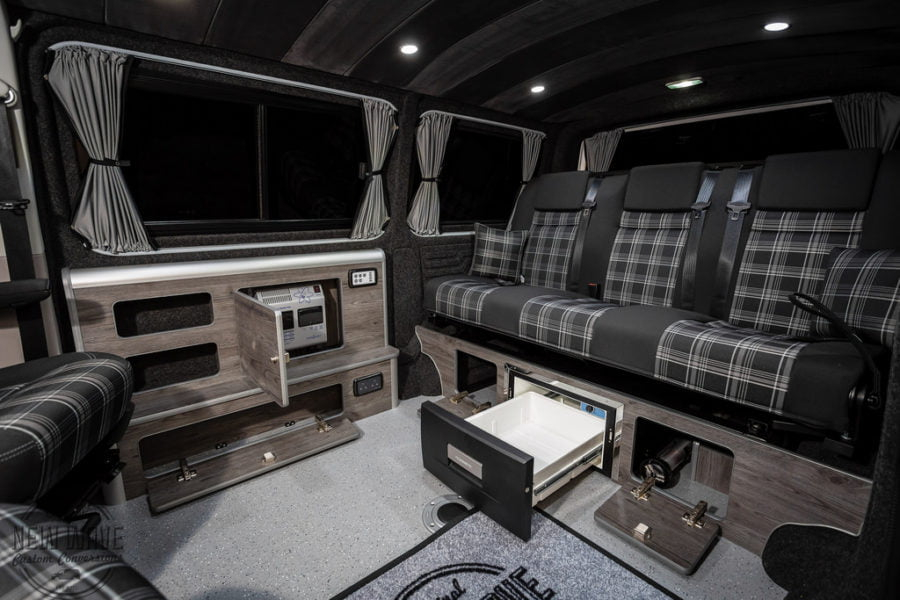 The Caven's VW T6 Sports Multipurpose Conversion