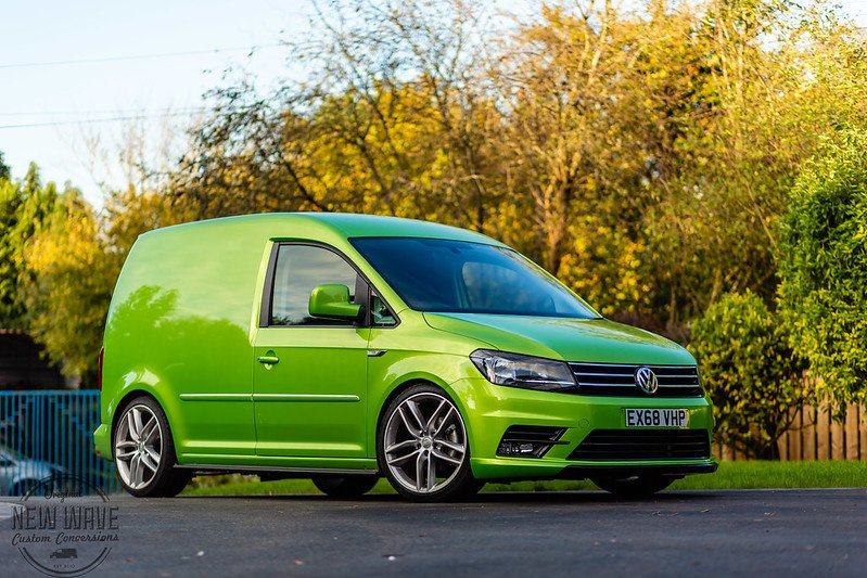 VW Caddy SWB Viper Green