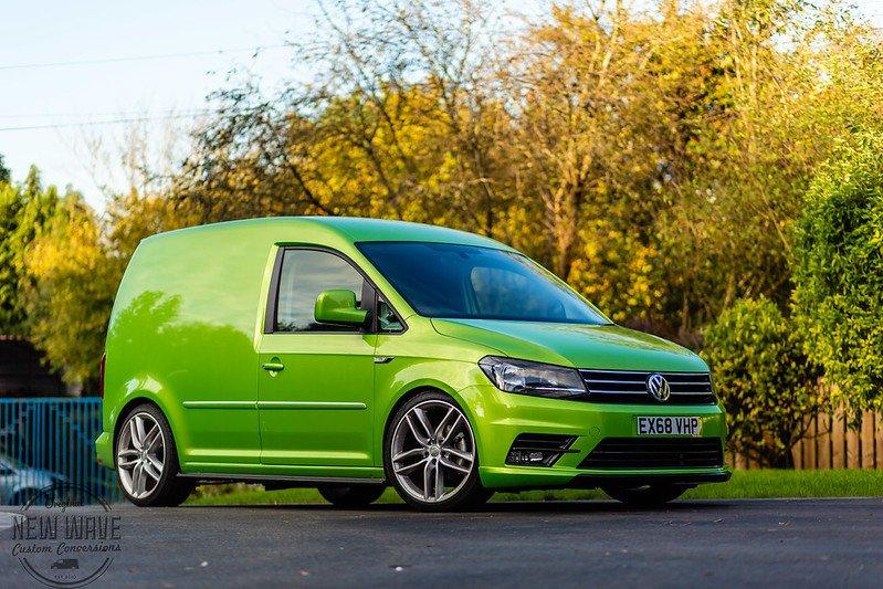 The VW Caddy Kombi conversion